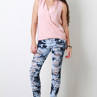 Static Reaction High Waisted Jeans