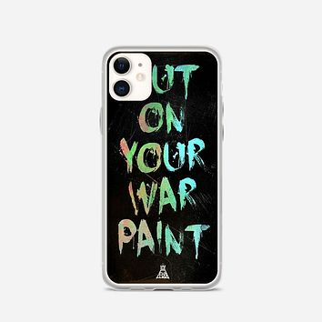 Fall Out Boy Lyrics Just One Yesterday iPhone 11 Case