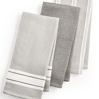Martha Stewart Collection 3-Pc. Waffle Weave Kitchen Towels, Created for Macy's | macys.com