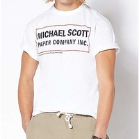 Michael Scott Paper Company T Shirt - The Office - Spencer's