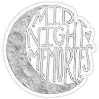 Midnight Memories Moon- Gray