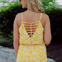 Dance in the Sunlight Romper