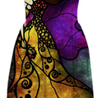 Beauty and the Beast Summer Dress created by mandiemanzano | Print All Over Me