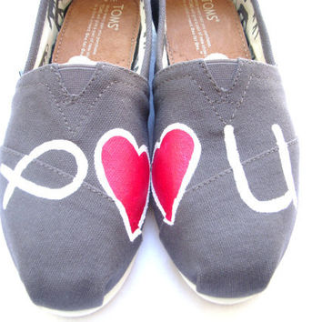 The Missionary - Jesus Loves You Custom TOMS