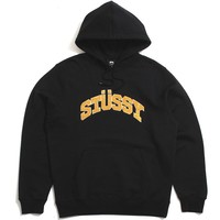 Chenille Arch App. Hoodie Black
