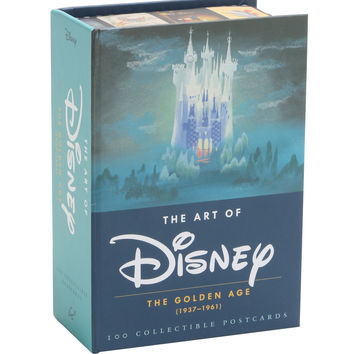 The Art Of Disney: The Golden Age Postcard Collection