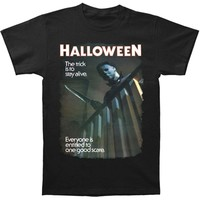 Halloween Men's  One Good Scare T-shirt Black
