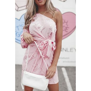 Nash Bash Baby Pink Party Dress