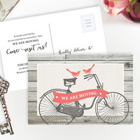 Gift for new homeowner | Personalized moving announcement cards | Gift for new homeowner | Unique housewarming gifts