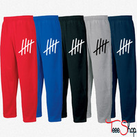 5 lines 5 times  birthday gift sport Sweatpants