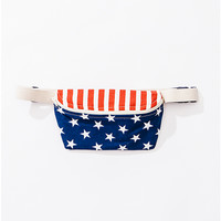 US Flag Fanny Pack | American Apparel
