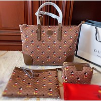 GUCCI Three piece shopping bag