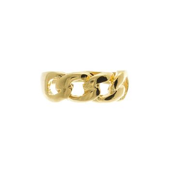 Chain Link Knuckle Ring