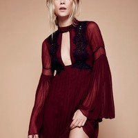 Free People Madly Deeply Mini Dress