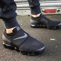 Nike Air Vapor Max Fashion Women Men Personality Running Sport Shoes Sneakers Black I
