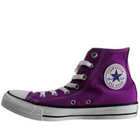 Converse Chuck Taylor All Star Purple Cactus Flower Hi-Top Trainers - Buy Online at Grindstore.com