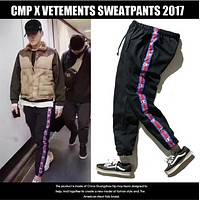 Champion  Men and women lovers dress trousers belt sports leisure beam feet pants