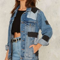 The Ragged Priest Idle Denim Jacket