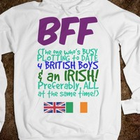 BFF - The One Who's Plotting for 4 BRITISH BOYS & AN IRISH (NEW 2nd Edt) - Connected Universe