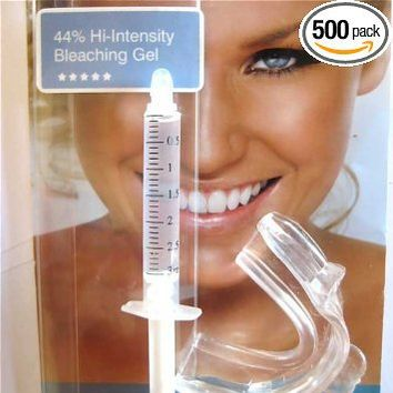 SEALED INSTANT WHITE SMILE'S 10ml NEW STRONGEST 44% carbamide peroxide teeth whitening gel + SEALED trays (20-30 applications)