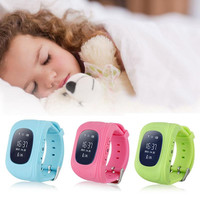 Newest GPS Tracker Watch For Kids SOS GSM Mobile Phone App For Android Emergency Anti Lost GSM Smart Bracelet Wristband Alarm
