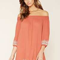 Contemporary Embroidered Dress | Forever 21 - 2000170671
