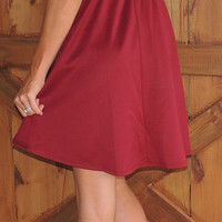 Game Day Bow Back Dress