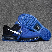 Nike Air Max Trending Women Men Casual Sport Shock Absorption Shoes Sneakers Blue I