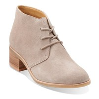 Phenia Carnaby Sand Suede - Womens Medium Width Shoes - Clarks