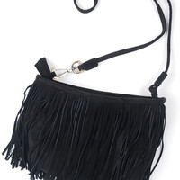 Out On The Town Crossbody - Black