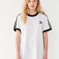 adidas Originals 3 Stripes Ringer Tee | Urban Outfitters