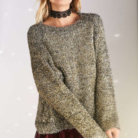 Silence + Noise Tinsel Sweater - Urban Outfitters