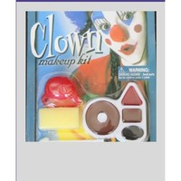 Clown Face Painting Kit