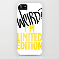 I'm Limited Edition iPhone & iPod Case by LookHUMAN