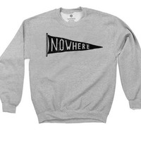 Nowhere - Sweatshirt - Heather Grey