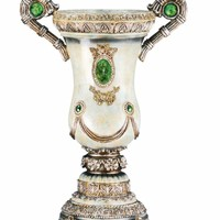 Elegant Emerald Decorative Vase