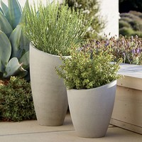 Slant Tall Planter.