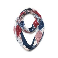 Cozy by LuLu- American Quilt Infinity Scarf