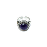 Amethyst Deco Ring