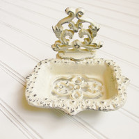 Cast Iron Scroll Soap Dish - Choose Your Color - Colorful Cast and Crew