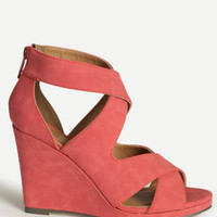 Miami Sun Cutout Wedges - $62.00 : ThreadSence, Women's Indie & Bohemian Clothing, Dresses, & Accessories