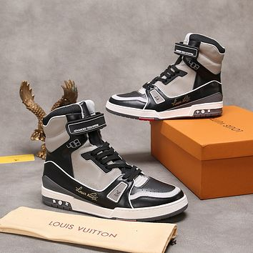 lv louis vuitton womans mens 2020 new fashion casual shoes sneaker sport running shoes 144