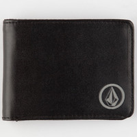 Volcom Corps Wallet Black One Size For Men 26030210001
