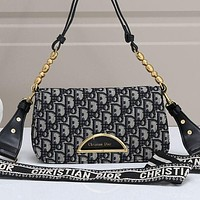DIOR New fashion Handbag Leather Shoulder Bag