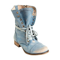 """Steve Madden® """"Troopa"""" Combat Boots at www.herbergers.com"""