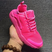 Best Online Sale Nike Air Huarache 3 Kjcrd Pink Blast Rose - Blast/Rose Feu Running Sport Casual Shoes Sneakers - 833292-600