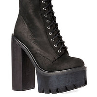 The Syndicate Boot in Black