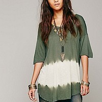 We The Free   Bleach Stripe Tee at Free People Clothing Boutique