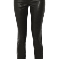 J Brand - Maude leather slim-leg pants