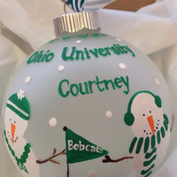Ohio University Ornament